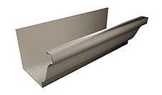 """K"" or ""O/G"" Style Seamless Gutter"